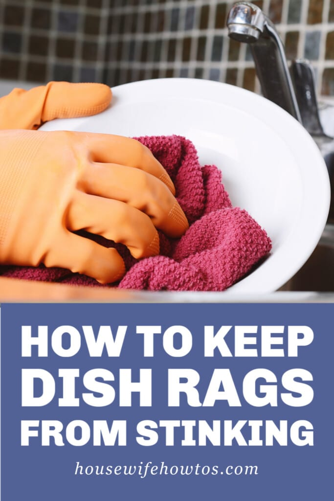 How to Keep Dish Rags from Stinking