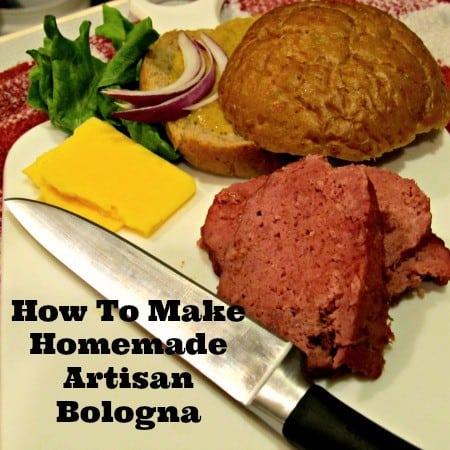 How to make homemade bologna recipe from HousewifeHowTos.com