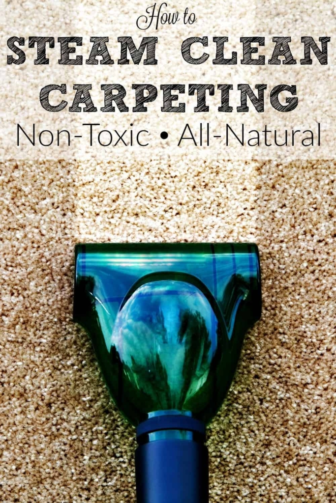 How to steam clean carpeting - Reduce dust, eliminate odors, and get your carpets looking like new. Naturally. #floorcare #cleaning #cleaningadvice #steamcleaning #carpet #springcleaning #deepcleaning