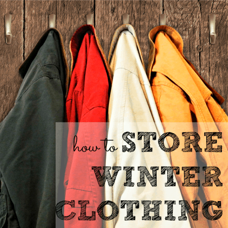 How To Store Winter Clothing