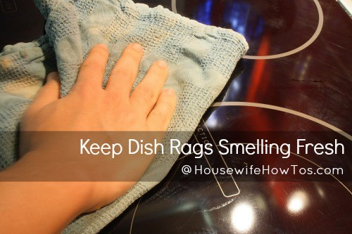 How to keep dish rags from smelling from HousewifeHowTos.com