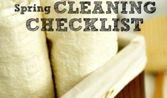 Printable Bathroom Spring Cleaning Checklist