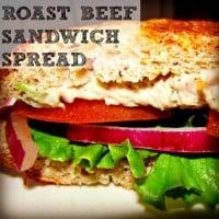 Roast Beef Sandwich Spread from HousewifeHowTos.com