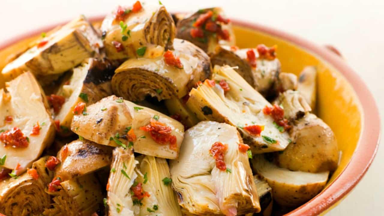 recipe: marinated artichoke hearts appetizer [3]