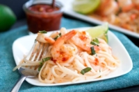 Shrimp Pad Thai - Easy enough for every day