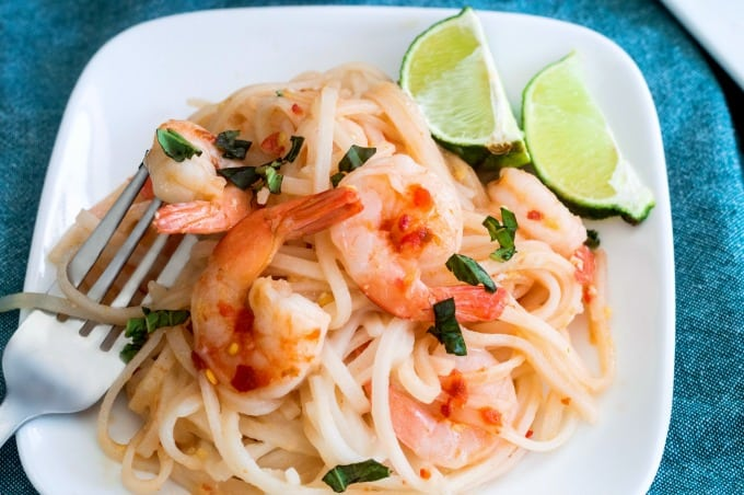 Shrimp Pad Thai - Faster than ordering out