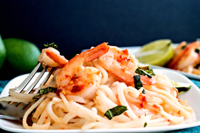 Shrimp Pad Thai - Pull up a plate