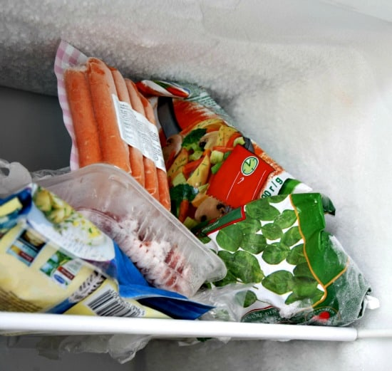 Stash used dish cloths in a freezer bag to keep them from getting stinky between laundering
