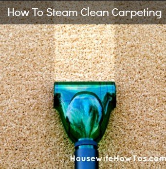 How To Steam Clean Carpeting from HousewifeHowTos.com