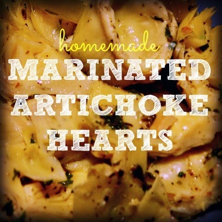 marinated artichoke hearts recipe from HousewifeHowTos.com