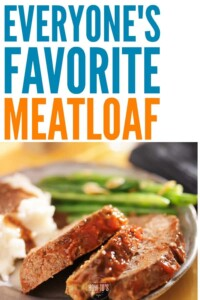 Everyones Favorite Meatloaf Recipe - This makes meatloaf lovers out of people who think they hate meatloaf! #meatloaf #thebestmeatloaf #meatloafsandwiches #beef #comfortfood #homecooking #familydinner #familyrecipes #easydinnerrecipe #beginnercook #dinnerrecipe #housewifehowtos #maincourse