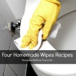 Homemade Wipes Four Ways