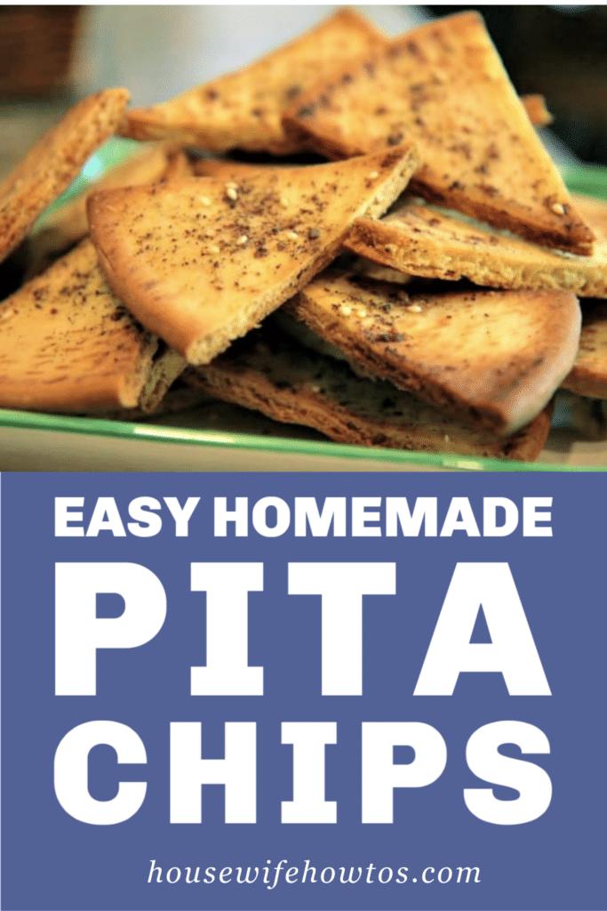 Easy Homemade Pita Chips Recipe