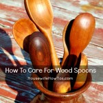 How To Care For Wood Spoons