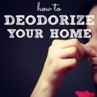 How To Deodorize Your Home Naturally