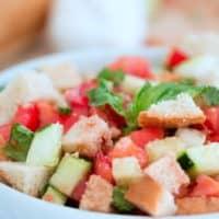 Panzanella Salad - A fresh salad with a long history