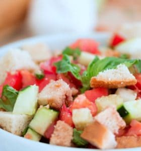 Panzanella Salad - A fresh salad with a long history