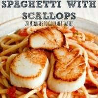 Spaghetti With Scallops Recipe