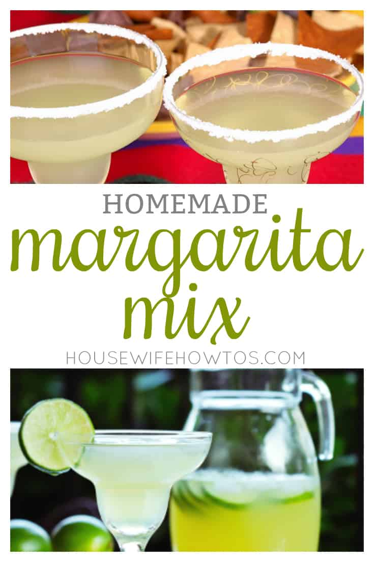Homemade margarita mix recipe all natural beats store for Best mix drink ever