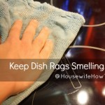 Keep Your Dish Rags From Smelling