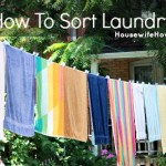 How To Sort Laundry (with Printable)