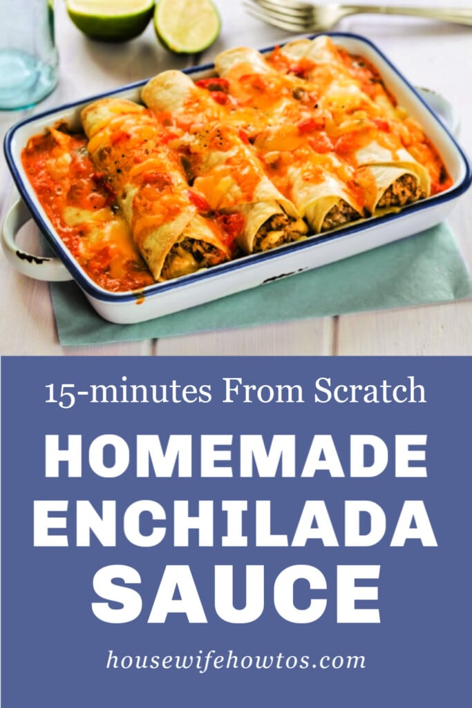 Easy Homemade Enchilada Sauce Recipe from Scratch