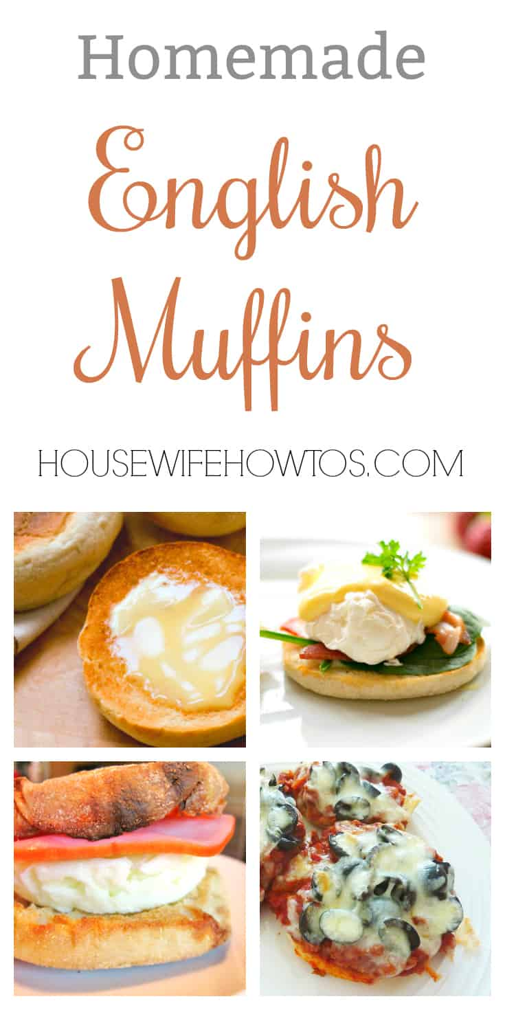 homemade english muffins recipe and 6 easy meal ideas