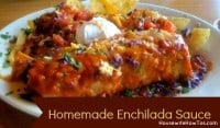 Homemade enchilada sauce from HousewifeHowTos