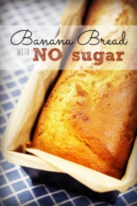 This banana bread without added sugar is SO moist you'll never miss the white stuff!