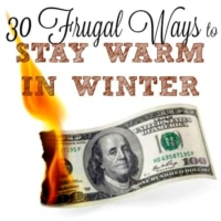 30 Frugal Ways To Stay Warm In Winter