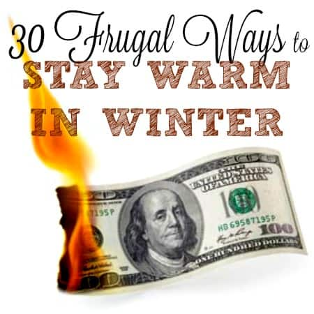 Frugal Ways To Stay Warm In Winter