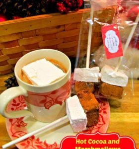 How to make homemade marshmallows and hot cocoa on a stick recipe from HousewifeHowTos.com