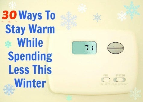 Frugal ways how to stay warm for less from HousewifeHowTos.com