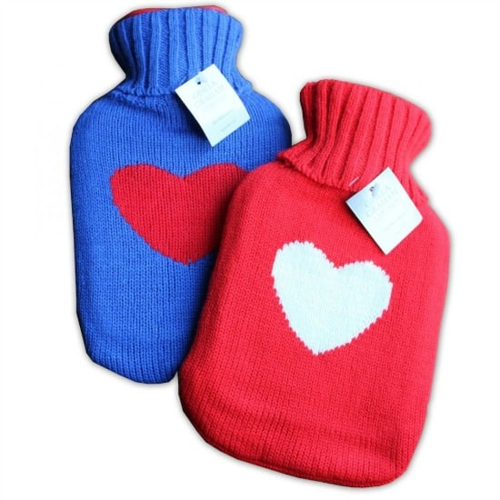 Frugal Ways To Stay Warm In WInter: Hot Water Bottles