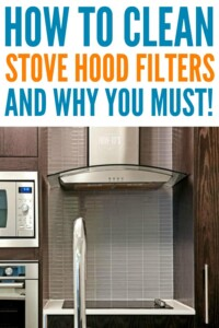 How to Clean Stove Hood Filters - Dirty filters are dangerous and attract pests #kitchencleaning #cleaning #housewifehowtos #housework