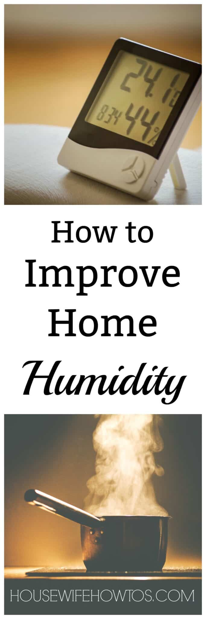 How to Improve Home Humidity - Stop static in the winter and mildew in the summer with these tips. #homehumidity #humidity #homemaintenance #indoorair #static #staticcling #staticelectricity #mildew #mold