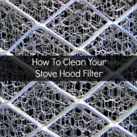 How to clean stove hood filter from HousewifeHowTos.com