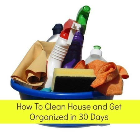30 Days To A Clean And Organized House Housewife How To 39 S