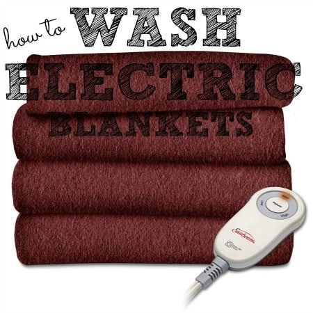 How to wash electric blankets from HousewifeHowTos.com