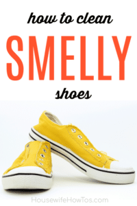 How to Clean Smelly Shoes
