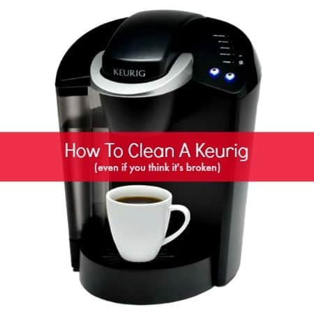 How to clean a Keurig from HousewifeHowTos.com