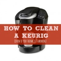 How To Clean A Keurig (even if you think it's broken)