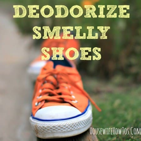 How To Deodorize Smelly Shoes From Housewifehowtos Com