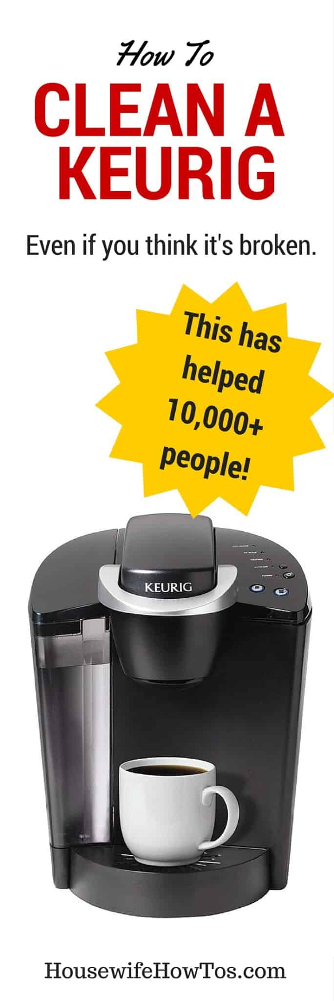 Pin How To Clean a Keurig