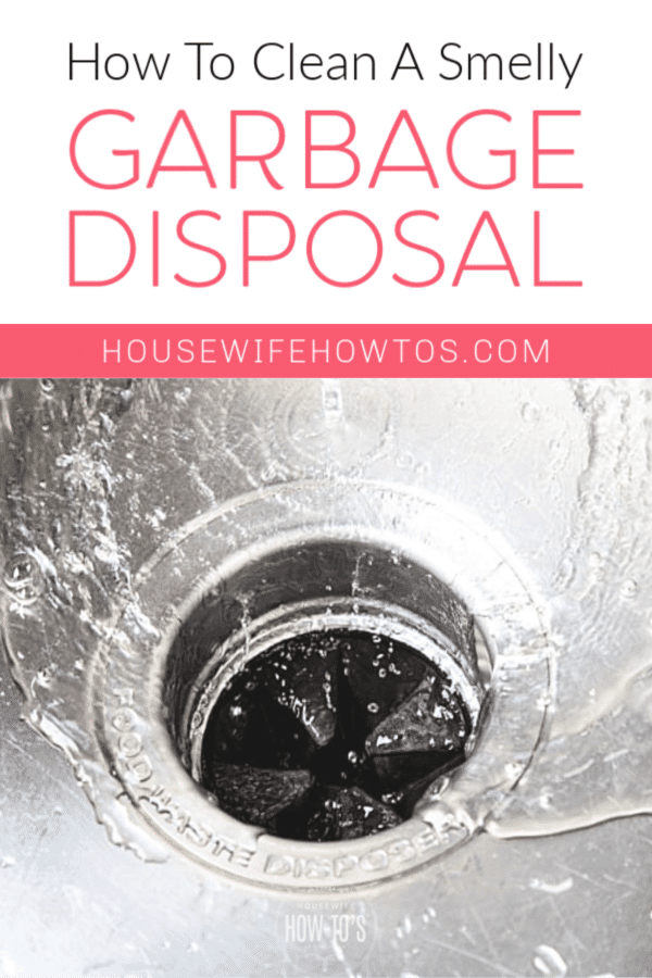 How to Clean a Smelly Garbage Disposal