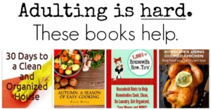 Share books by Katie Berry of HousewifeHowTos