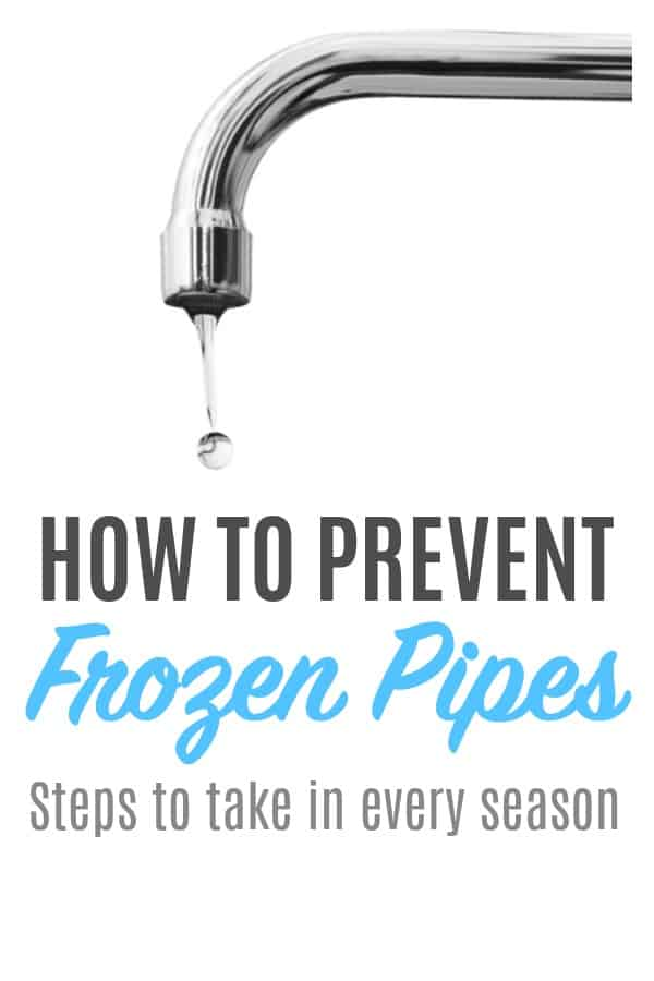 How to Prevent Frozen Pipes - Did you know homeowners insurance might not cover burst pipes? Here's how to protect your home. #winterizing #burstpipe #homemaintenance