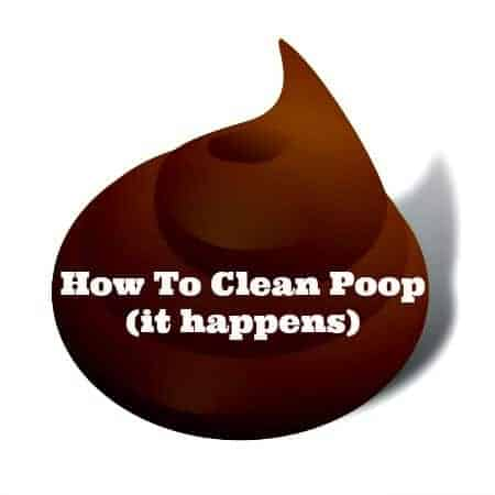 How To Clean Poop