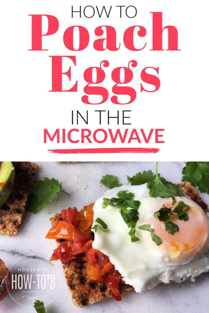 How to Poach Eggs in the Microwave