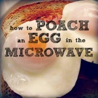 How to poach an egg in the microwave from HousewifeHowTos.com